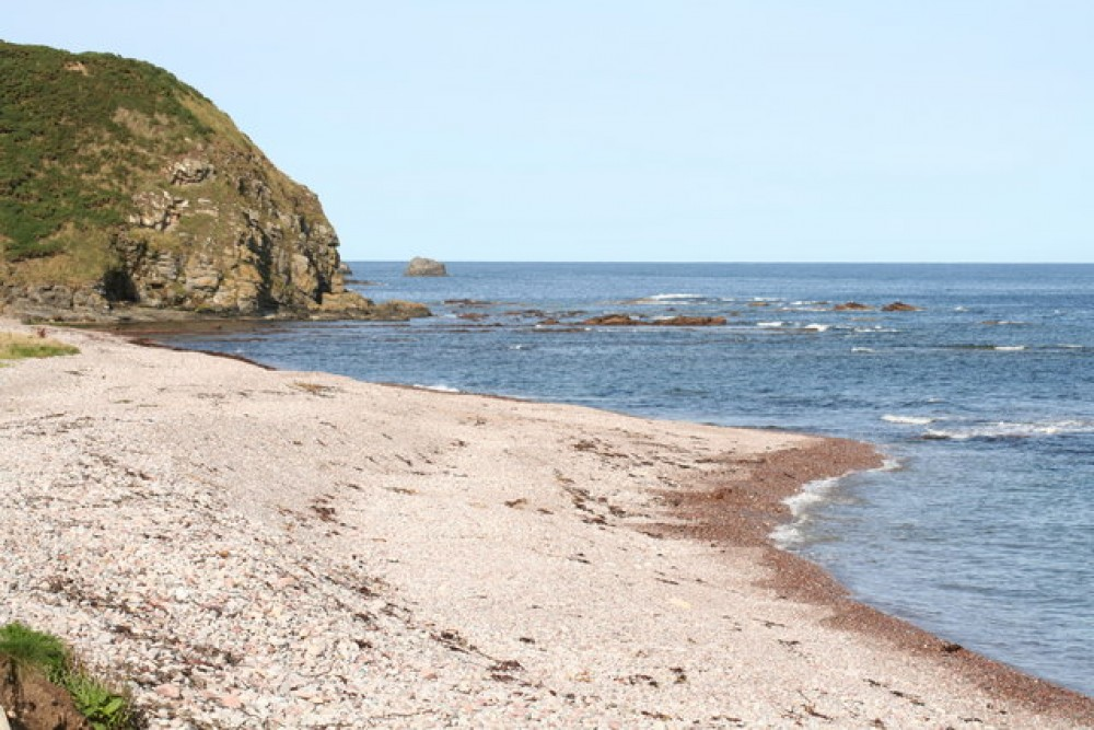 Aberdour dog-friendly beach, Scotland - Dog walks in Scotland