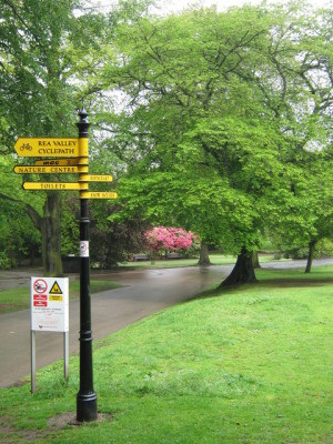 Cannon Hill Park local dog walk in Birmingham, West Midlands - Driving with Dogs