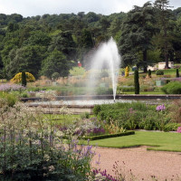 Trentham Gardens and park, Staffordshire - Dog walks in Staffordshire