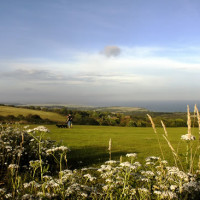 Hastings Country Park dog walks, East Sussex - Dog walks in Sussex