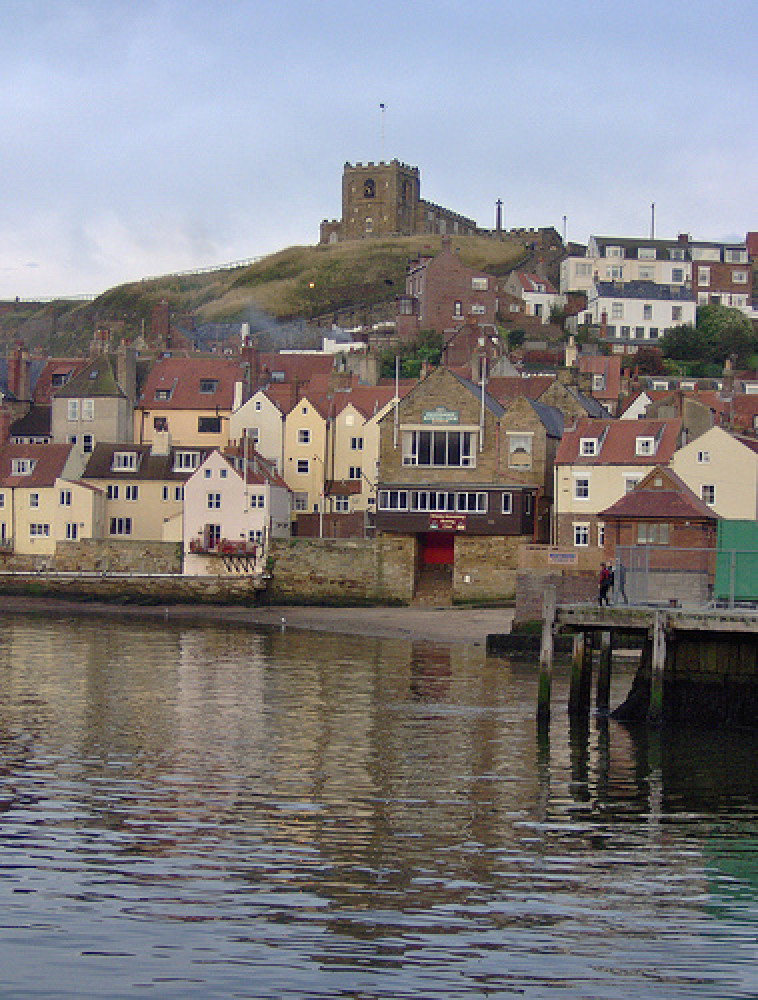 Whitby winter beach for dogs, Yorkshire - Dog walks in Yorkshire