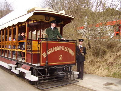Crich Tram Museum and dog walk, Derbyshire - Driving with Dogs