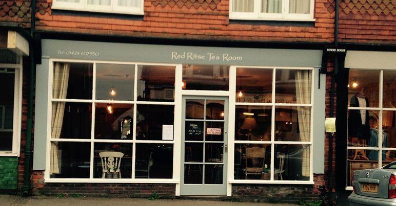 Dog-friendly cafe near the A3, Surrey - red rose tearoom.jpg