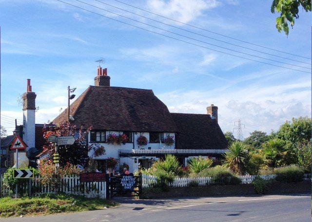 M20 Junction 2 country pub and dog walk, Kent - Kent dog-friendly pub near the M20.jpg