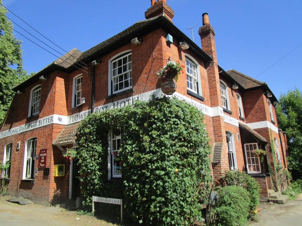 Henley area dog-friendly pub and dog walk, Oxfordshire - Oxfordshire dog walk with dog-friendly pub