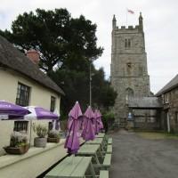 A30 dog-friendly inn and dog walk, Devon