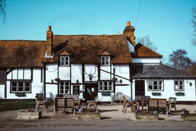 A321 dog friendly pub and dog walk near Henley on Thames, Berkshire - Driving with Dogs