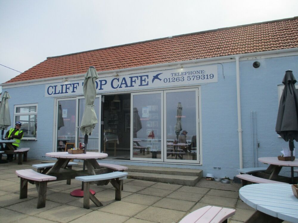 Overstrand dog-friendly cafe and beach, Norfolk - Norfolk dog-friendly beach and cafe.JPG
