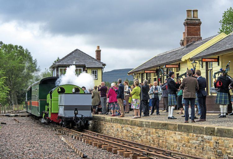 A689 Heritage Railway and a dog walk on the Pennine Way, Northumberland - Dog-friendly heritage railway.jpg