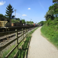Heritage railway dog walk and dog-friendly country inn, Northamptonshire - Dog walks in Northamptonshire