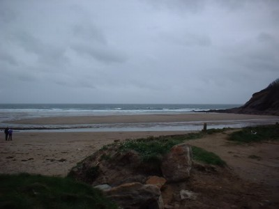 Porthlunley dog-friendly beach, Cornwall - Driving with Dogs