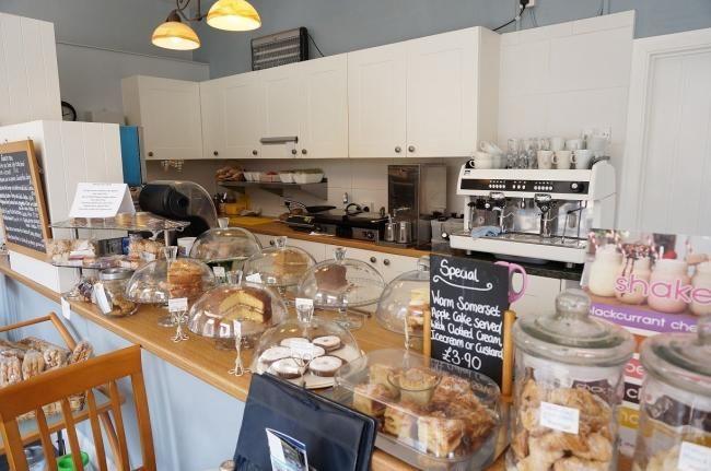 A39 Dog-friendly cafe and cream tea, Somerset - dog-friendly cafe on the A39 Somerset.jpg