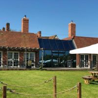 Top dog dining and a short dog walk near Great Waltham, Essex - Essex dog-friendly pub and dog walk