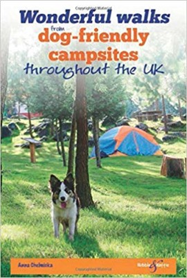 Wonderful Walks from Dog-Friendly Campsites Throughout the UK book cover