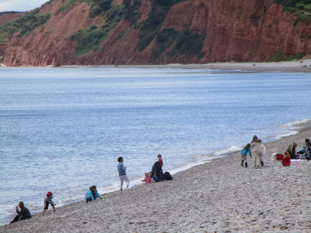 Heritage beach and dog walk, Devon - Devon dog walking places.JPG