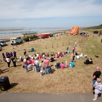 A55 dog-friendly beach and walk near Conwy, Clwyd, Wales - Dog walks in Wales
