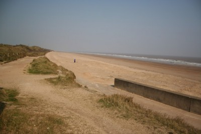 Chapel St Leonards dog-friendly beach, Lincolnshire - Driving with Dogs