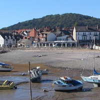 Rhos on Sea dog-friendly beach, Wales - Dog walks in Wales