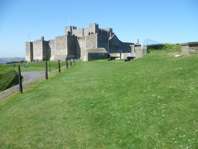 Dover Castle dog walks, Kent - Driving with Dogs