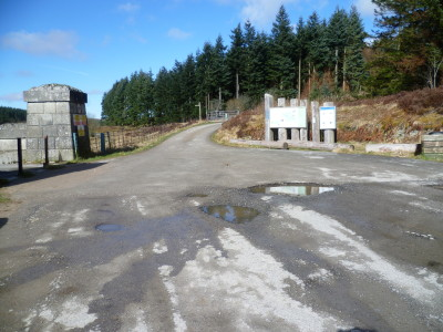 A5 dog walk near Betws-y-Coed, Clwyd, Wales - Driving with Dogs