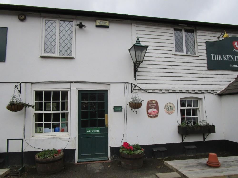 A264 Dog walk and dog-friendly pub near Edenbridge, Kent - Kent dog-friendly pub and dog walk.JPG
