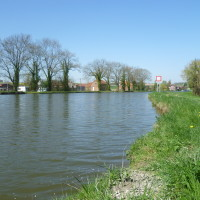 A26 exit 9 Canalside dog walk, France - Image 1