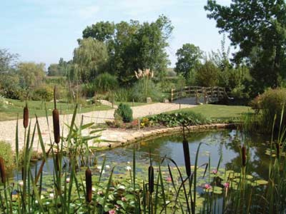 Water gardens of Moulin des Vernes - dog-friendly, France - Image 2