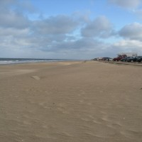 Huttoft car terrace dog friendly beach, Lincolnshire, Lincolnshire