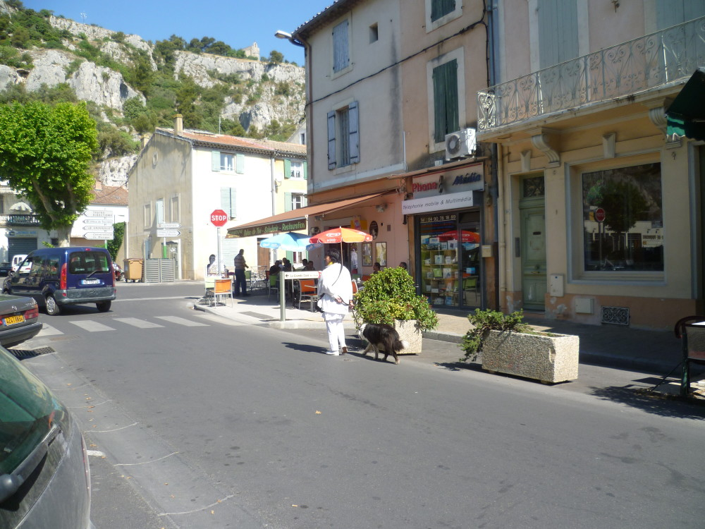 A7 exit 25 doggiestop in Cavaillon, France - Image 1