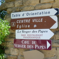 A7 exit 22 doggiestop in a wine village, France - Image 5