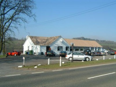 A75 dog-friendly pub and dog walk near Crocketford, Scotland - Driving with Dogs