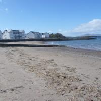 Ganavan dog-friendly beach near Oban, Scotland - Dog walks in Scotland