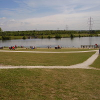 M1 Junction 29A dog walk and cafe near Bolsover, Derbyshire
