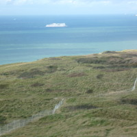 A16 Junction 40 Cap Blanc Nez dog walk near Calais, France - Image 1