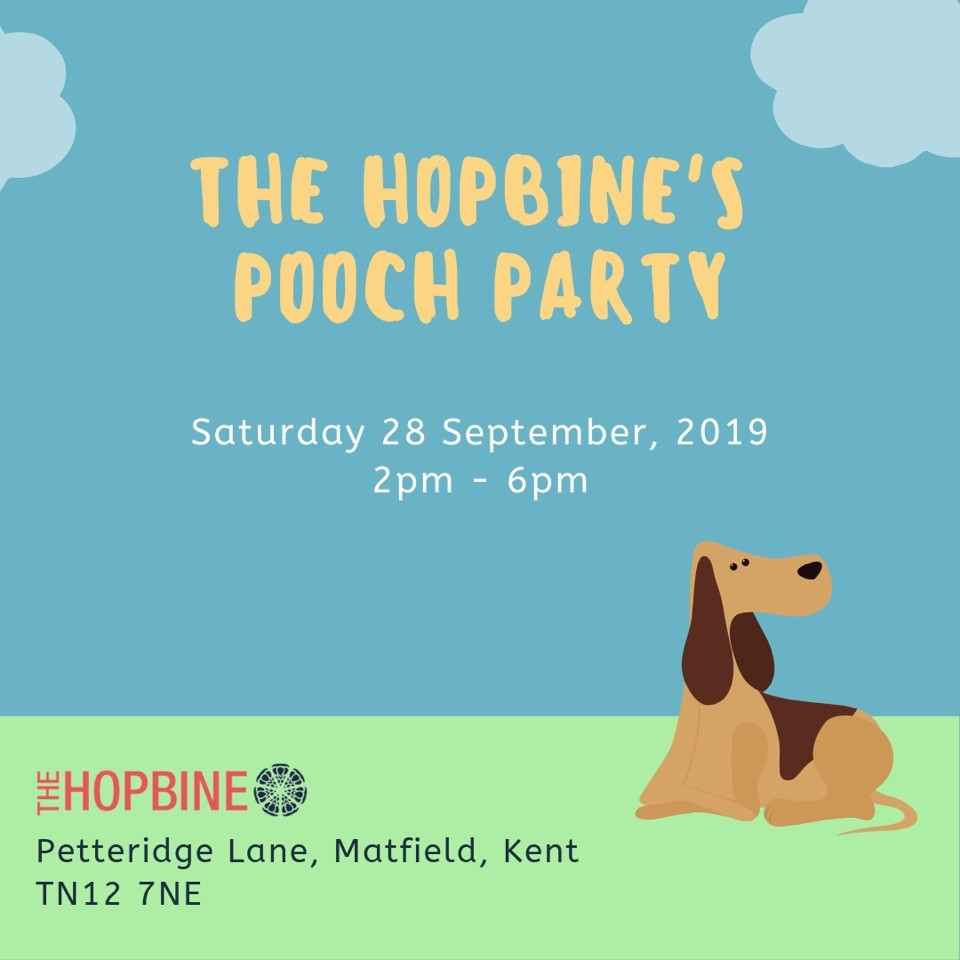Join the Pooch-party in rural Kent this September