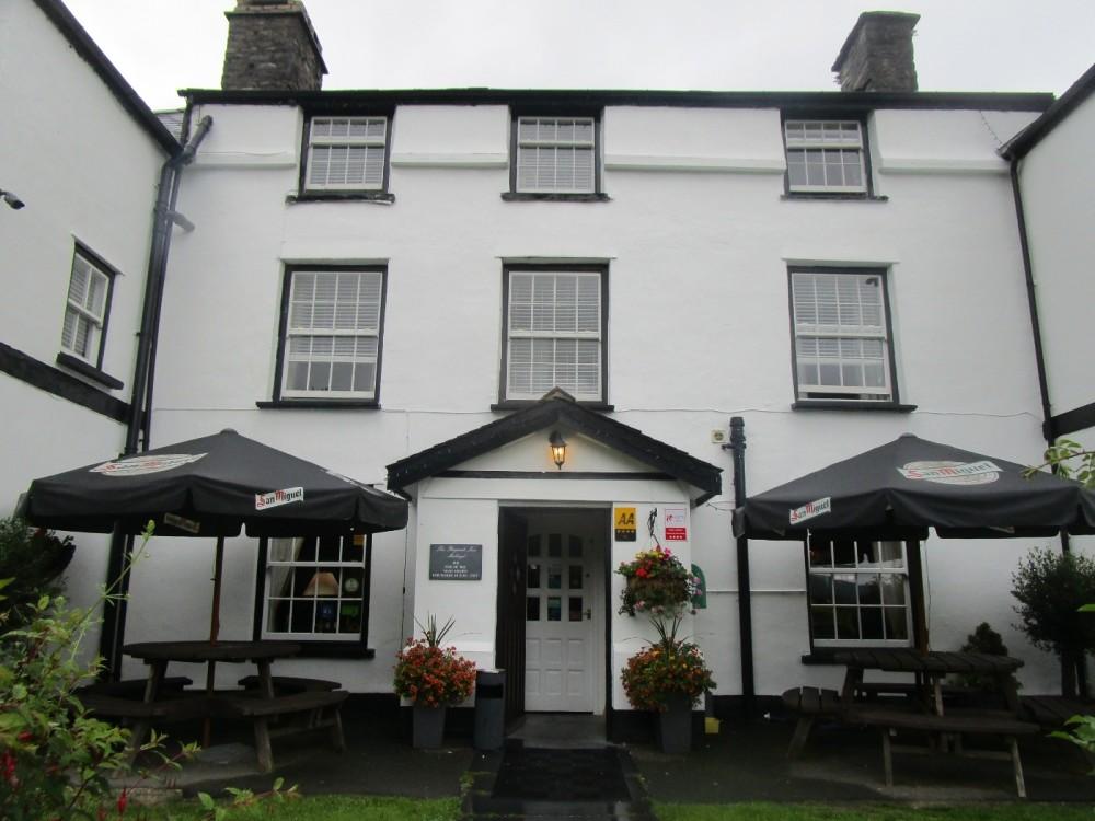 Dog-friendly hotel and dining near Machynlleth, Wales - Wales dog-friendly pub and dog walks.JPG