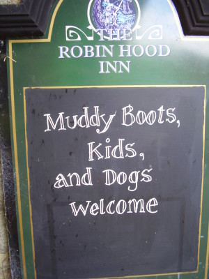 Baslow dog-friendly pub, Derbyshire - Driving with Dogs