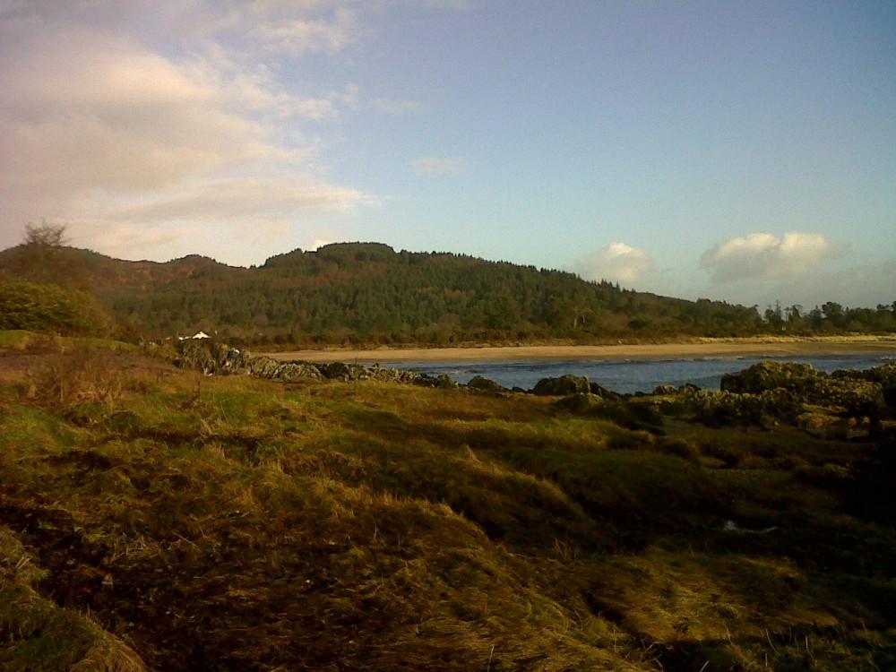 Carradale dog-friendly beach, Scotland - Dog walks in Scotland