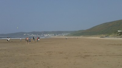 Woolacombe dog-friendly beach, Devon - Driving with Dogs