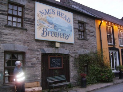 Abercych dog-friendly pub and dog walk, Wales - Driving with Dogs