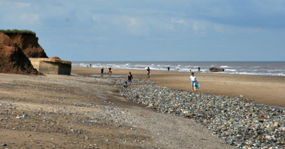 Easington dog-friendly beach, County Durham - Driving with Dogs