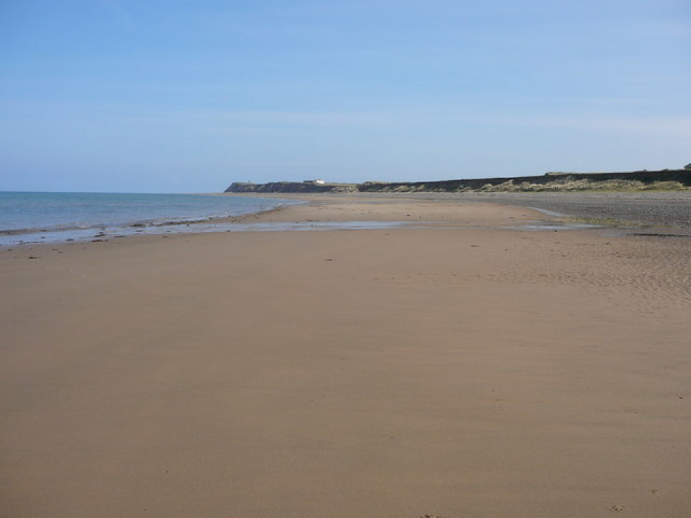 Jurby Beach and Point, Isle of Man - Dog walks on the Isle of Man
