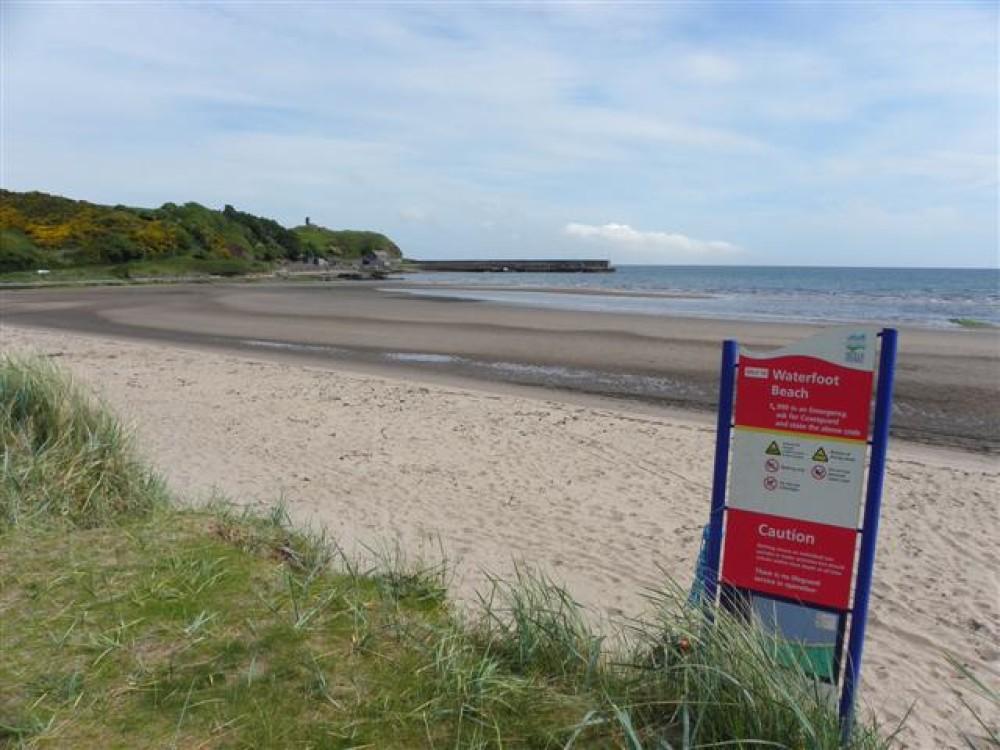 Waterfoot dog-friendly beach, NI - Dog walks in Northern Ireland