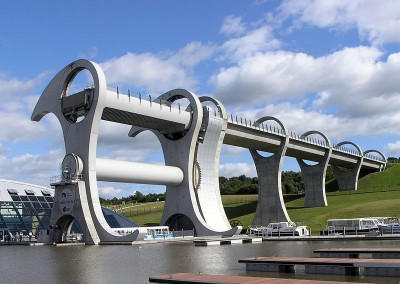 Falkirk Wheel dog walk, Scotland - Driving with Dogs