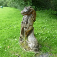 Victoriana dog walk near Llandrindod Wells, Wales - Dog walks in Wales