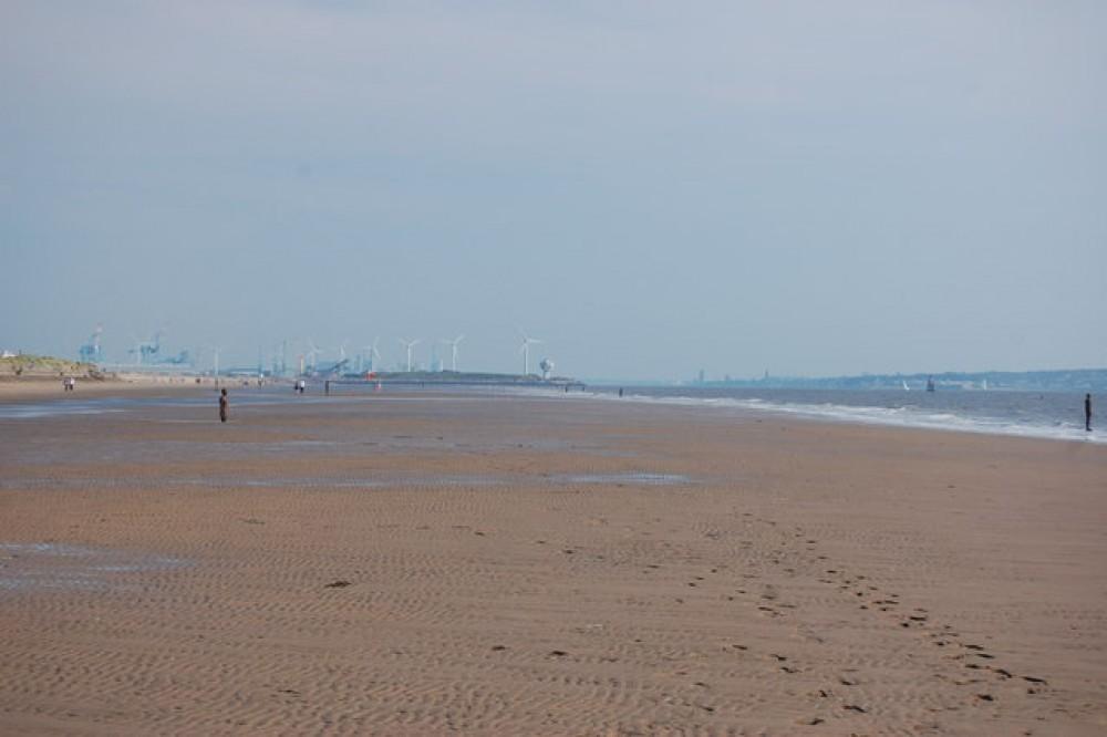 Blundellsands dog-friendly beach, Lancashire - Dog walks in Lancashire