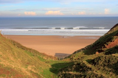 Marske Sands dog-friendly beach, Yorkshire - Driving with Dogs