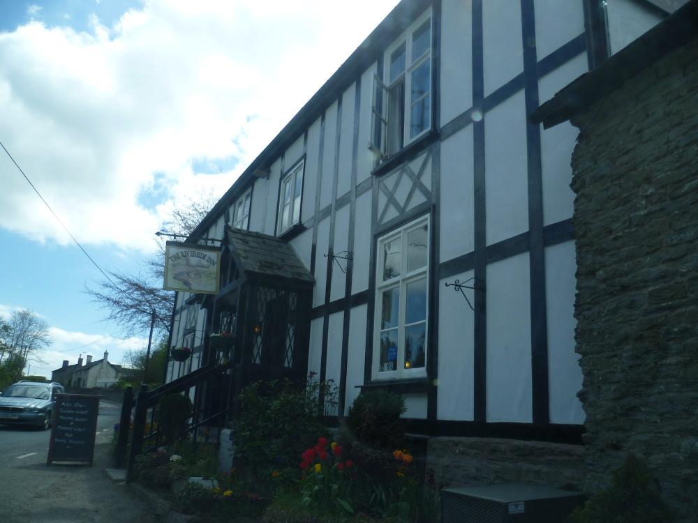 Riverside dog-friendly pub and dog walk, Herefordshire - Dog walks in Herefordshire
