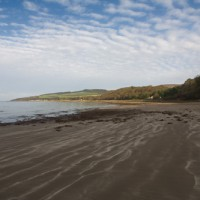 Culzean Bay dog-friendly beach near Ayr, Scotland - Dog walks in Scotland