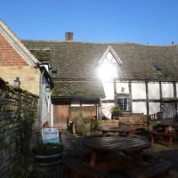 A46 near Evesham dog-friendly pub and dog walk, Worcestershire - Dog walks in Worcestershire